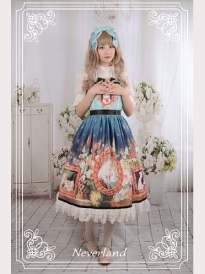Souffle Song Kitty Courtyard Lolita Headbow