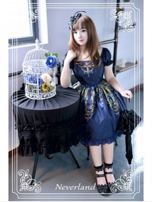 Souffle Song Madonna Cross Lolita Dress OP