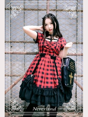 Souffle Song Metal Mary Lolita Dress OP