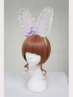 Souffle Song Mid-Autumn Festival Lolita Headbow - Rabbit Ear