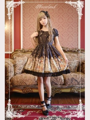 Souffle Song Mucha The Four Seasons Lolita Dress OP