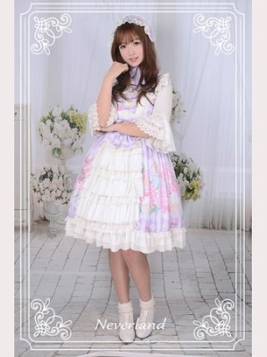 Souffle Song Perfume Hydrangea Lolita Dress JSK - Design 1