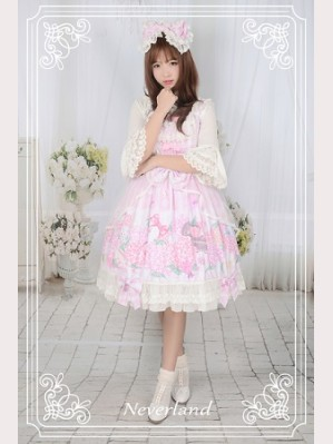 Souffle Song Perfume Hydrangea Lolita Dress JSK - Design 2