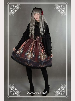 Souffle Song Rococo Story Lolita Skirt SK
