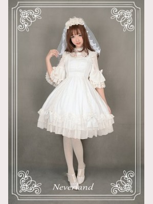 Souffle Song Black & White Sugar Lolita Dress JSK