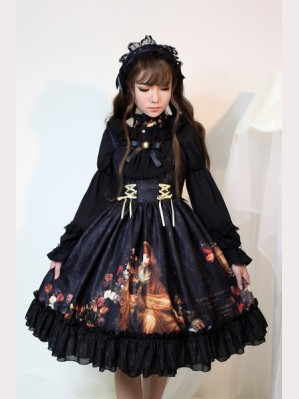 Souffle Song The Song of Time Lolita Dress JSK