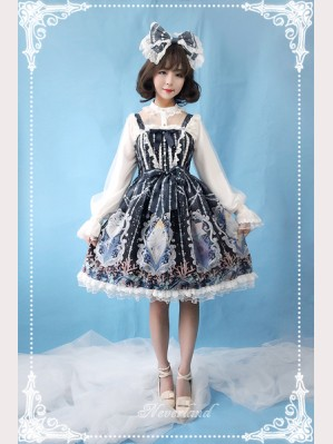 Souffle Song Crystal Palace Lolita Dress JSK