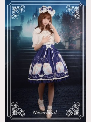 Souffle Song Starlit Aquarius Lolita Skirt SK