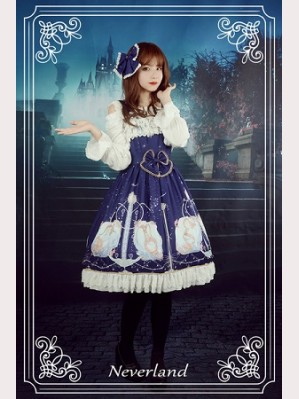 Souffle Song Starlit Aquarius Lolita Dress JSK