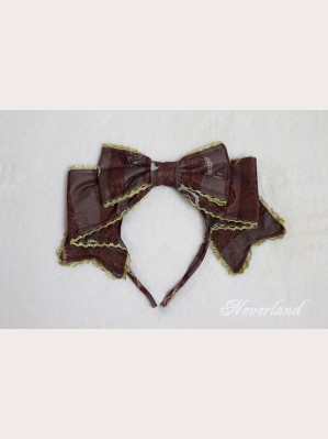 Souffle Song Steampunk Cat Lolita Headbow