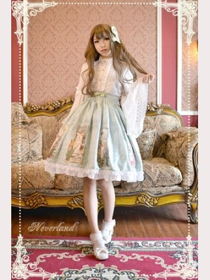 Souffle Song Summer Maidens Lolita Skirt SK
