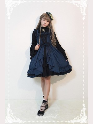 Souffle Song Dark Fairy Tale Lolita Dress JSK