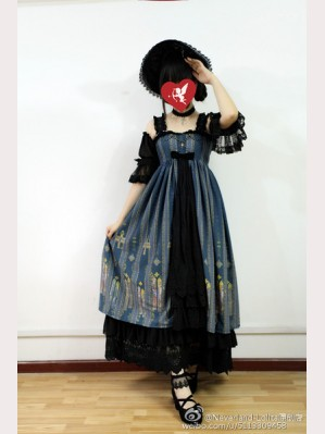 Souffle Song Byzantine Lolita Dress JSK