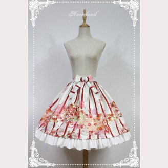 Souffle Song Million Ghost Wander Nine Tailed Fox Lolita Skirt SK