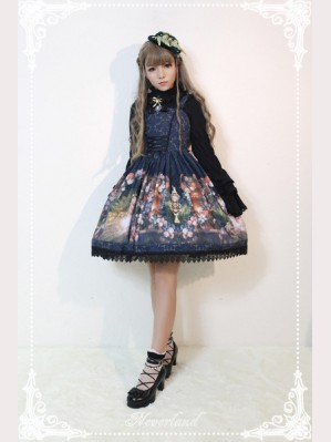 Souffle Song The Clock Demon Lolita Dress JSK