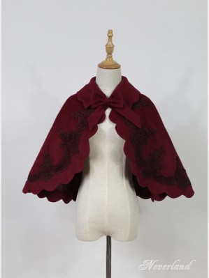 Souffle Song Dark Fairy Tale Lolita Cloak