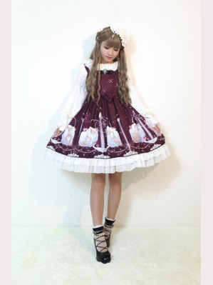 Souffle Song The Stars Aquarius Lolita Dress JSK