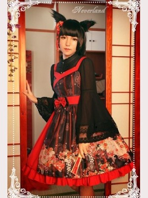 Souffle Song Million Ghost Wander Nine Tailed Fox Lolita Dress JSK