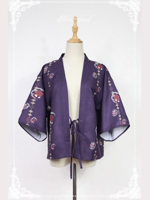 Souffle Song Japanese Style Print Haori