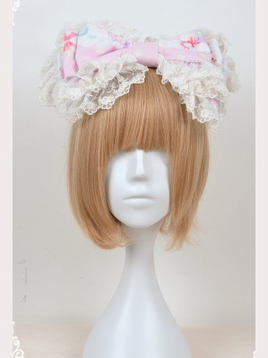 Souffle Song Candy Paradise Lolita Headbow KC
