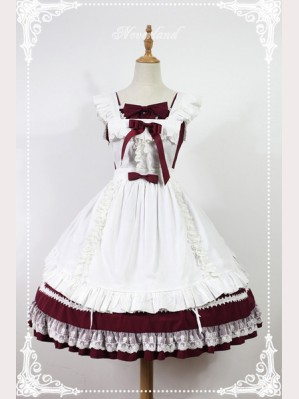Souffle Song Antique dolls Lolita Apron