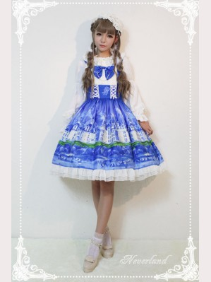 Souffle Song Lake Castle Lolita Dress JSK