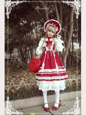 Souffle Song Antique Dolls Lolita Dress Jsk