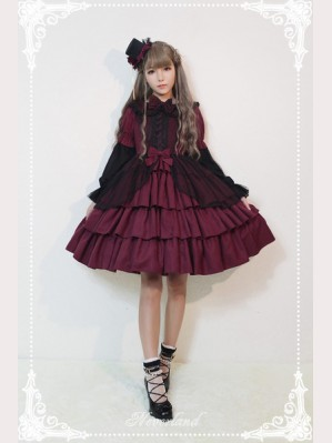 Souffle Song Dark Fairy Tale Lolita Dress OP