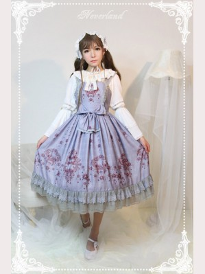 Souffle Song The Gem Swan Lolita Dress JSK - Design 2