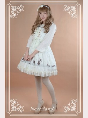 Souffle Song The Piper Under The Starry Night Lolita Dress JSK