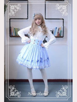 Souffle Song The Piper Under The Starry Night Lolita Skirt SK