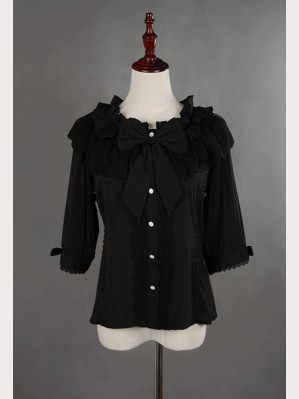 Souffle Song Three-quarter length sleeves Lolita Blouse