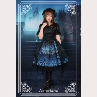Souffle Song Butterfly Cemetery Lolita Dress JSK