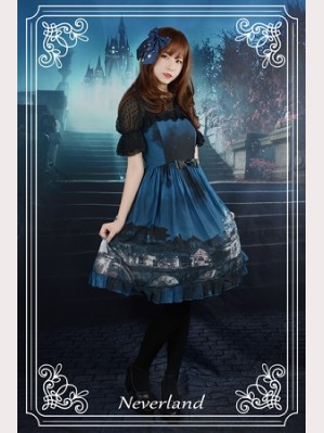 Souffle Song Vatican Castle Moonlight Lolita Dress JSK