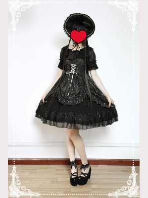 Souffle Song Wishing Stars Lolita Dress JSK - Design 2