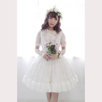 Souffle Song The Secret Of  Summer Lolita High Waist Dress OP
