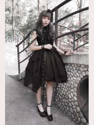 Souffle Song Undead Waltz Lolita Dress JSK (With Neck Strap)