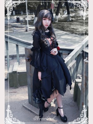 Souffle Song Undead Symphony Irregular Lolita Dress JSK