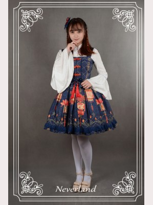 Souffle Song Palace Lantern Lolita Dress JSK