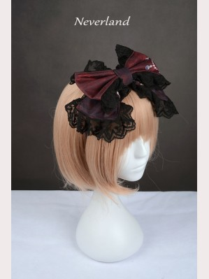 Souffle Song The Virgin Cross Lolita Headbow