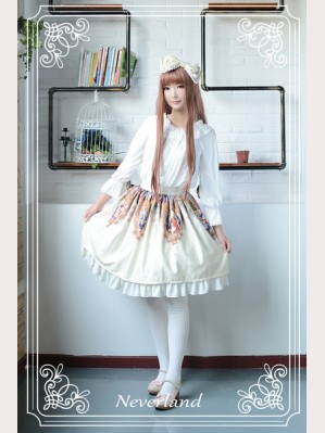 Souffle Song The Virgin Cross Lolita Skirt SK