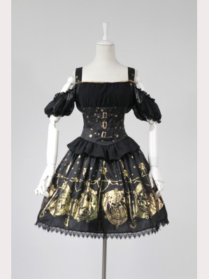 "Souffle Song ""The Mermaid's Song"" Lolita Dress JSK"