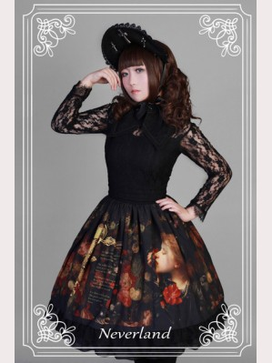 Souffle Song Painting Flower Girl  Lolita Dress OP