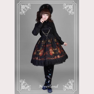 Souffle Song Flower Girl Lolita Dress JSK
