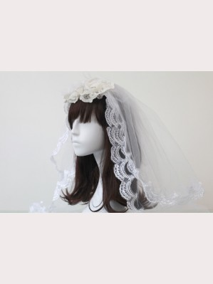 Souffle Song Flower Lace Headress