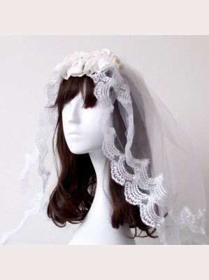 Souffle Song Princess Lace Lolita Headdress