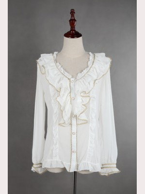 "Souffle Song ""Sweet Afternoon Tea"" Lolita Blouse"
