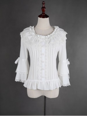Souffle Song Summer Lolita Blouse