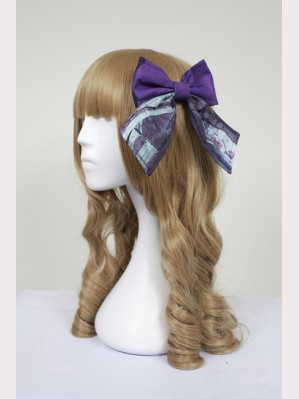 Souffle Song Vatican Castle's Moonlight Lolita Hairclip (Without Lace)