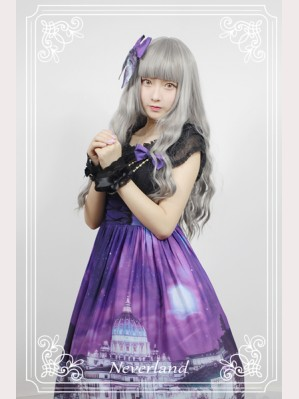Souffle Song Vatican Castle's Moonlight Lolita Dress JSK